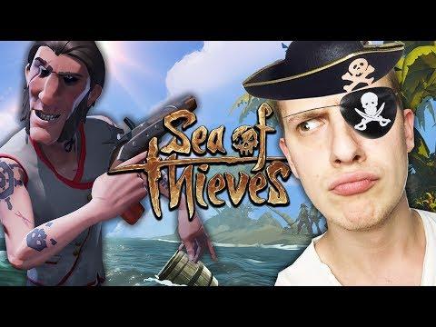 Die VIER Piraten stechen in See | Sea of Thieves (Deutsch Gameplay)