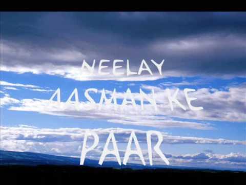 Neelae aasman (with lyrics)