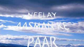 Neelae aasman (with lyrics)