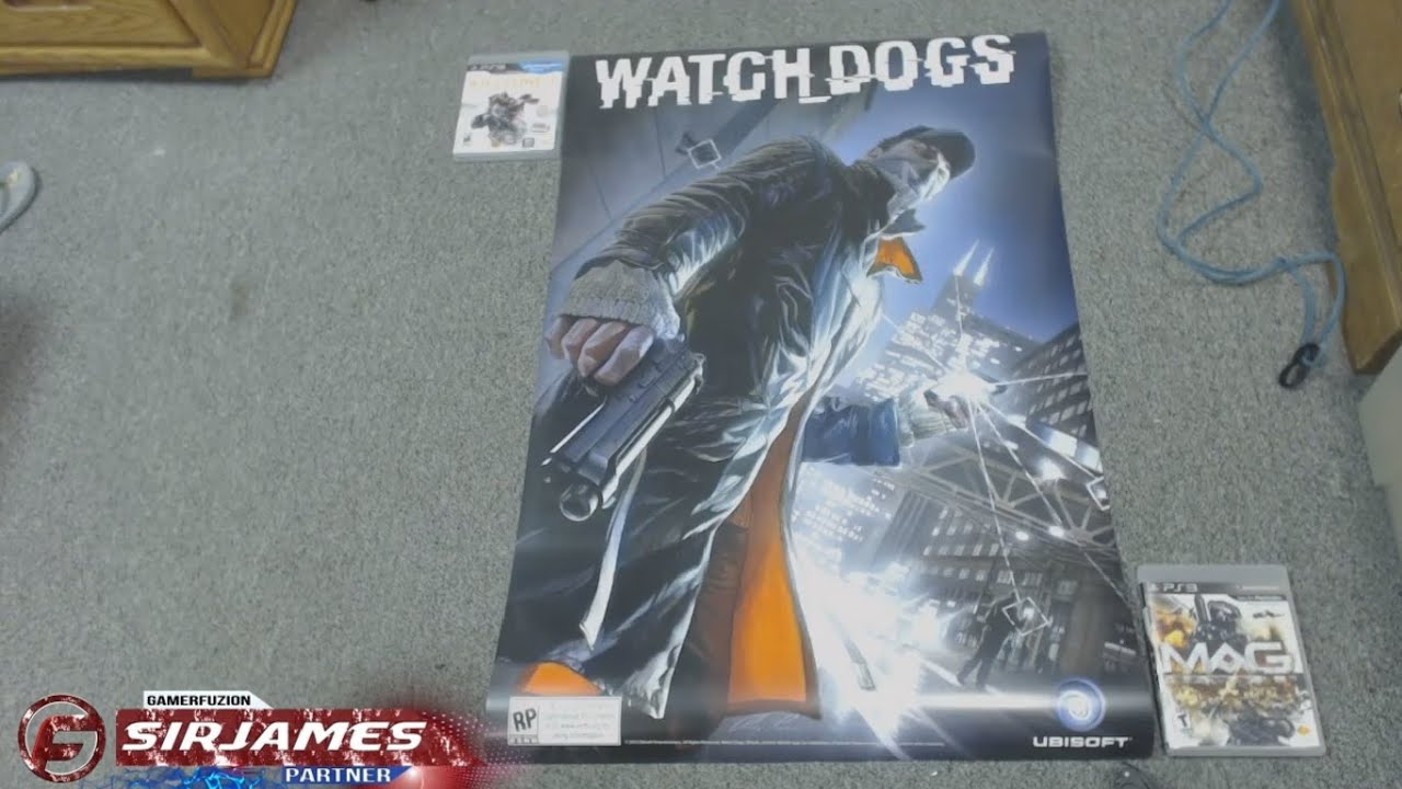 Watch Dogs 2 Official Playstation Store Pre Order: Watch Dogs Poster FREE At GameStop With Pre-Order