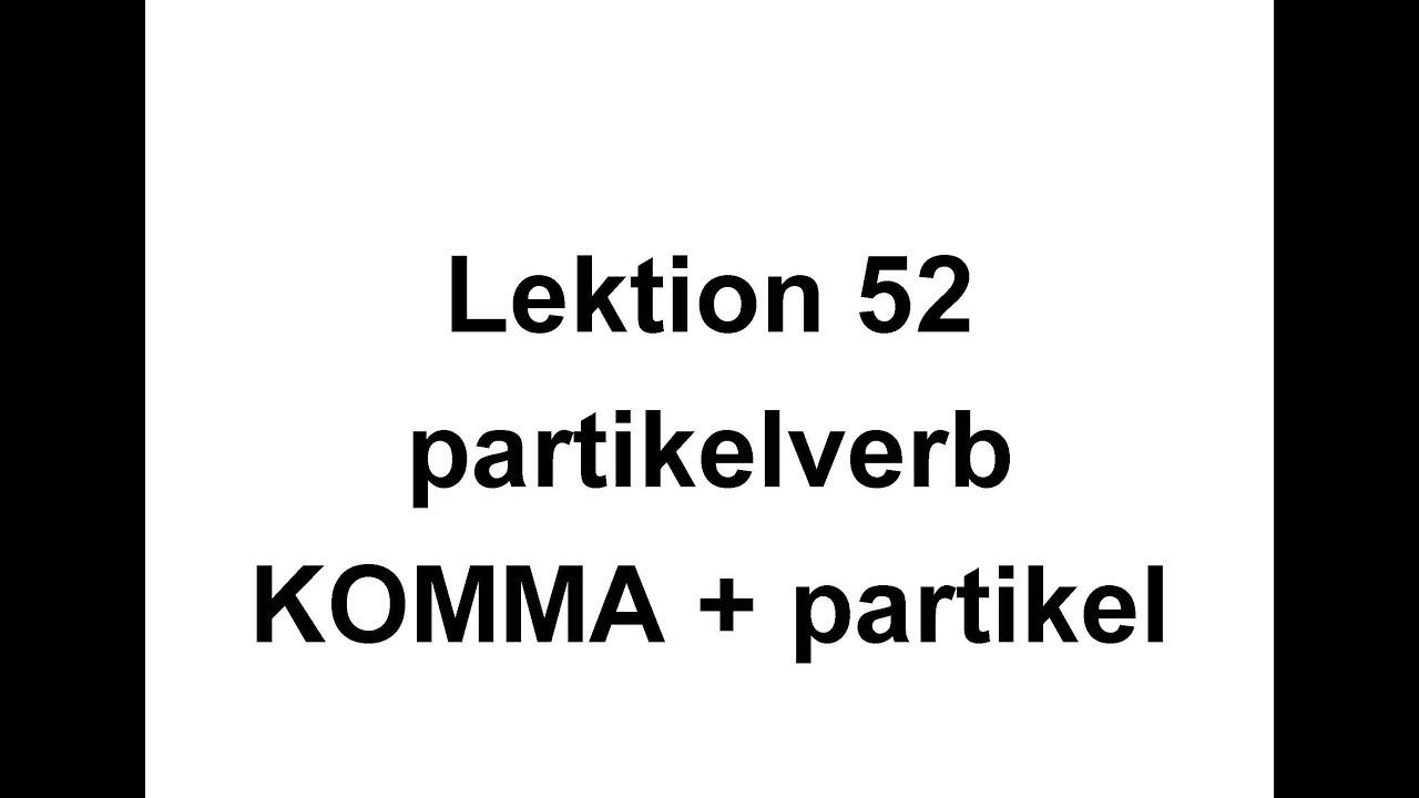 Lektion 52   Partikelverb   Svenska för Nyanlända   Swedish for beginners