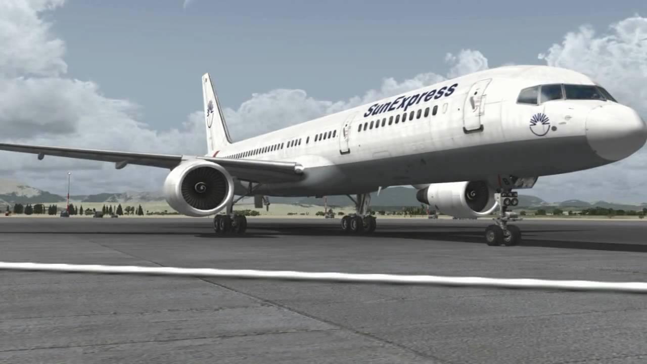 [HD] 757-200 Goodbye! - FSX