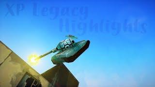 Tanki Online - Highlights!! With XP LEGACY #3 (Skills, Kills, Tricks, Nice Moments)