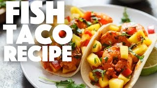how to make tacos | Fish Taco Recipe | simple dinner recipes | easy recipe
