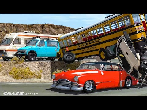 BEST CRASHES COMPILATION #8 - BeamNG Drive