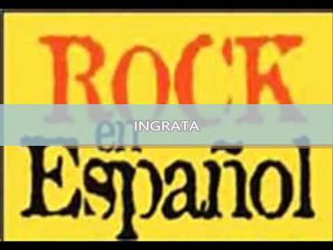 MIX   ROCK EN ESPAÑOL  EL GENERAL GLORIA TREVI DEL RECUERDO