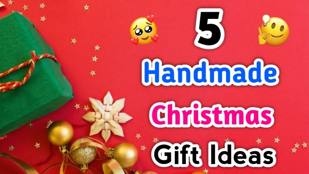 5 Handmade Christmas Gift Idea Christmas Gift Ideas Easy Christmas Gift Making Christmas Gifts Youtube