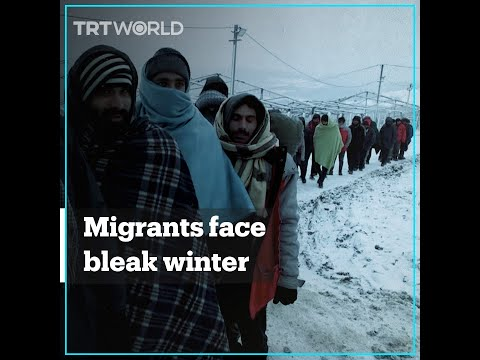Migrants in Bosnia camp face winter amid lack of basic facilities