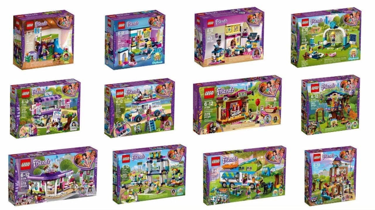 Nowości Styczeń 2018 Lego Friends Youtube