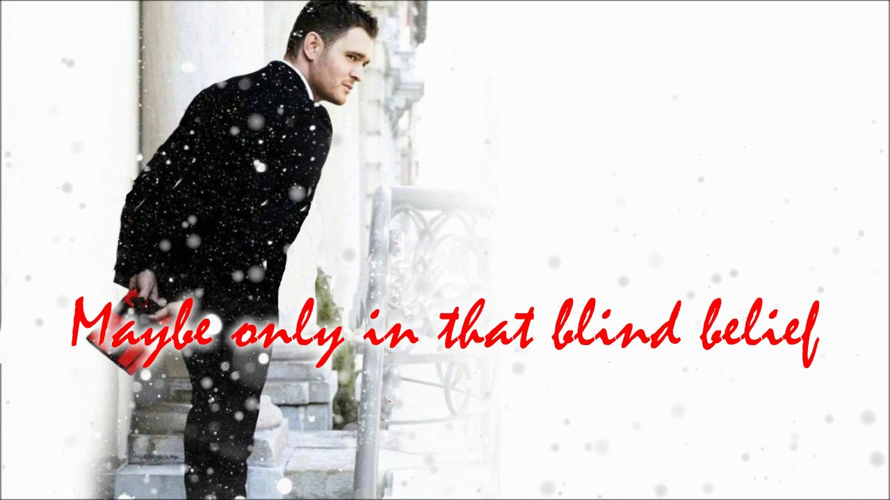 Michael Buble Grown up Christmas List Lyrics - YouTube