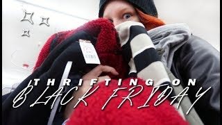 black friday thrift with me & try on haul