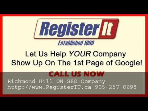 Best Toronto SEO Company Richmond Hill ON - 905-257-8698