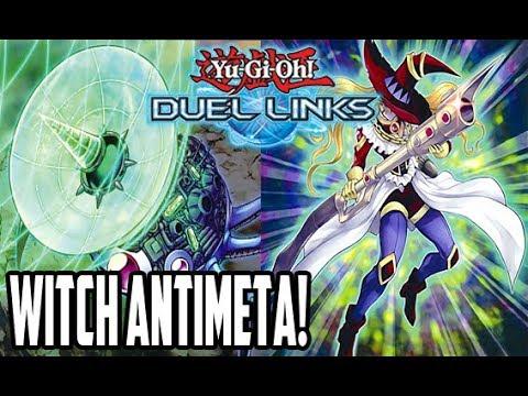 WITCH ANTIMETA DECK! - Yu-Gi-Oh! Duel Links - #ZeroTG