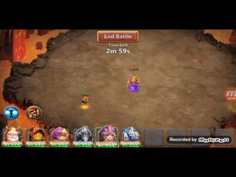Castle Clash : Boss 5 F2p Hero 3 Min