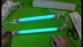 ультрафиолетовые лампы с Алиэкспресс. Распаковка, проверка исправности и мощности