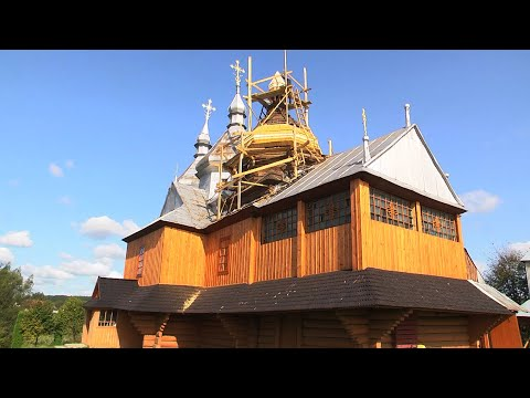 Телеканал НТК: У П'ядиках реставрують старовинну сакральну пам'ятку