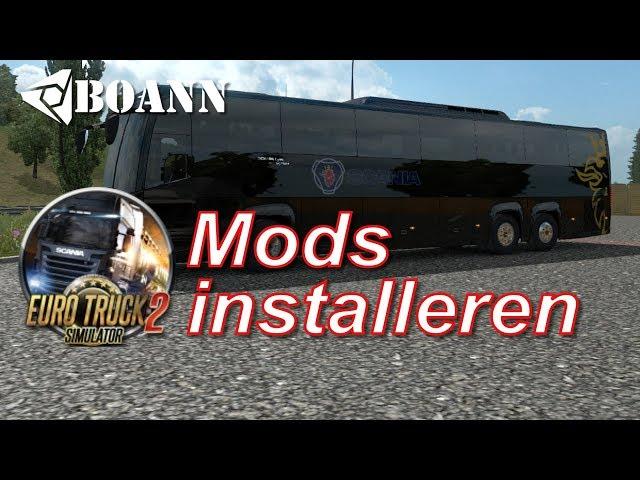 Euro Truck Simulator 2: Mods Installeren