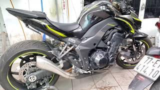 Súc động cơ cho Z1000R và giới thiệu xưởng.