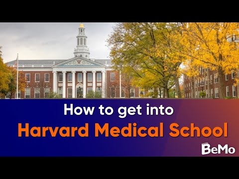 How To Get Into Harvard Med School - BeMo Med School Spotlight