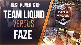 FAZE vs LIQUID @ ELEAGUE MAJOR 2018 ★ CS:GO