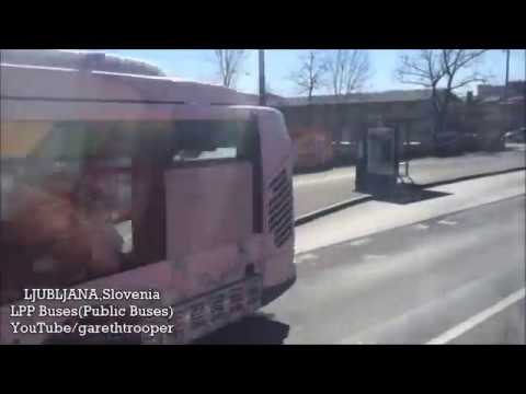 LPP Buses in Ljubljana,Slovenia(compilation)