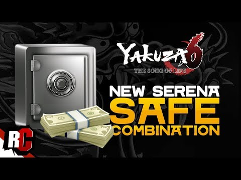 YAKUZA 6 | How to find NEW SAFE COMBINATION (Serena Rooftop Safe Code/Combination)
