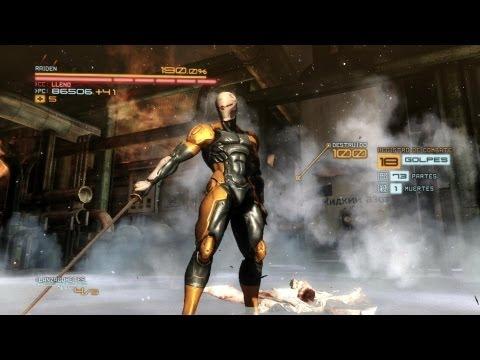 Metal Gear Rising: Revengeance Gameplay Walkthrough - Grey Fox Skin Traje DLC & Katana Grey Fox