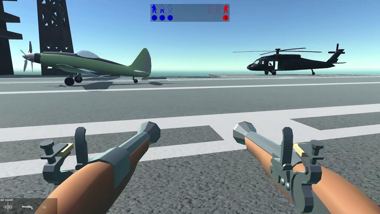 Cùng chơi Ravenfield, game bắn súng nhẹ mà hay.