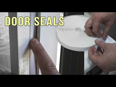 DOOR SEAL & WINDOW SEAL: HOW TO: EfficiencySEAL (EFFECTIVE & QUICK)