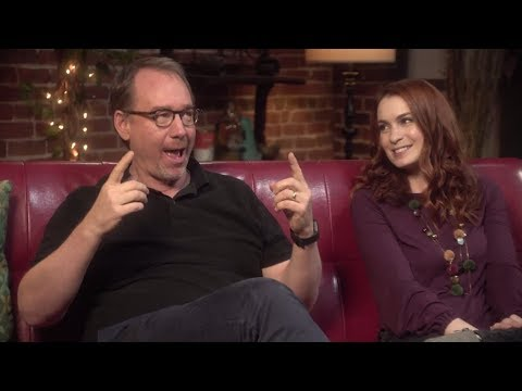 MST3K Turkey Day 2017  Joel Hodgson & Felicia Day On The Dynamic Between Kinga & Max