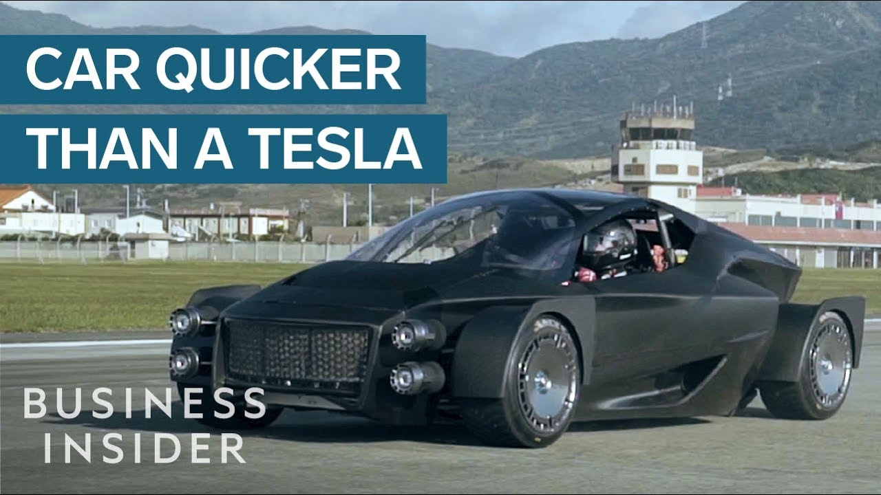 Prototype Electric Car Could Give The Tesla Roadster A Run For Its Money