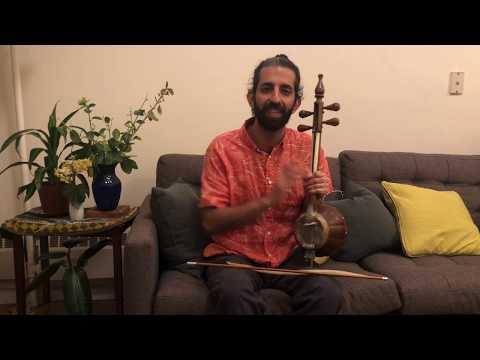 An introduction to Kamancheh by Kaveh joon!