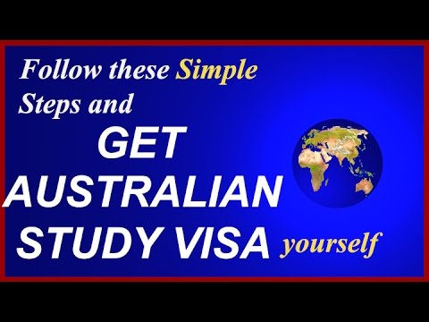 How To Get AUSTRALIAN STUDY VISA(Basic Requirements)