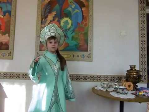 Изображение предпросмотра прочтения – АнастасияПьянкова читает произведение «Русская народная песня Варенька» (Русский фольклор )