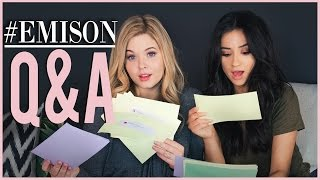 Emison Q&A Pt. 1 with Sasha Pieterse! | Shay Talk