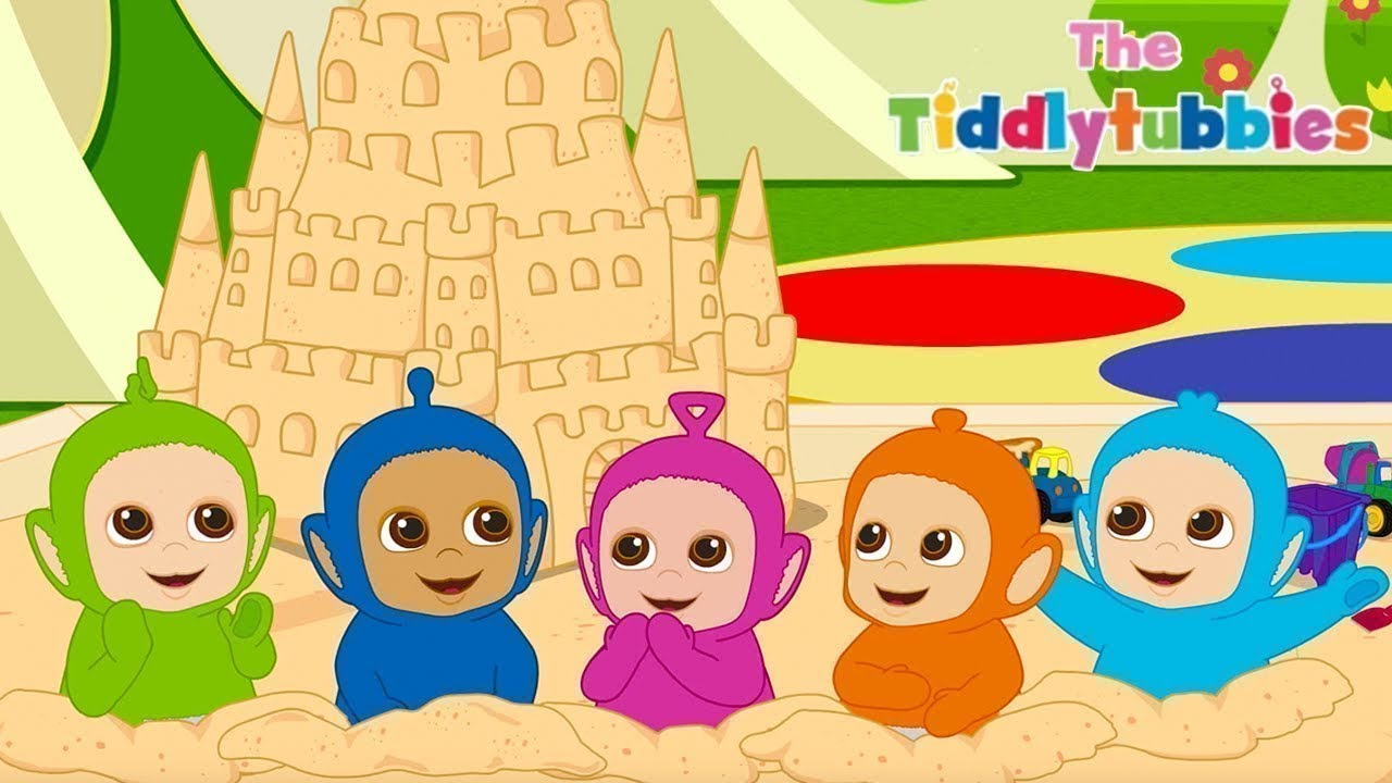 Tiddlytubbies 2D Series Main Pasir