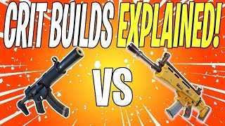 When Should You CRIT BUILD Your Weapons? | Fortnite Save The World (Fortnite School)