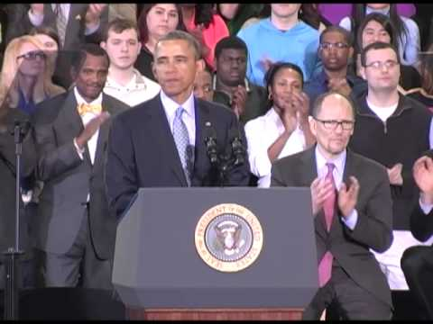 President Obama's Minimum Wage Speech at CCSU 2014
