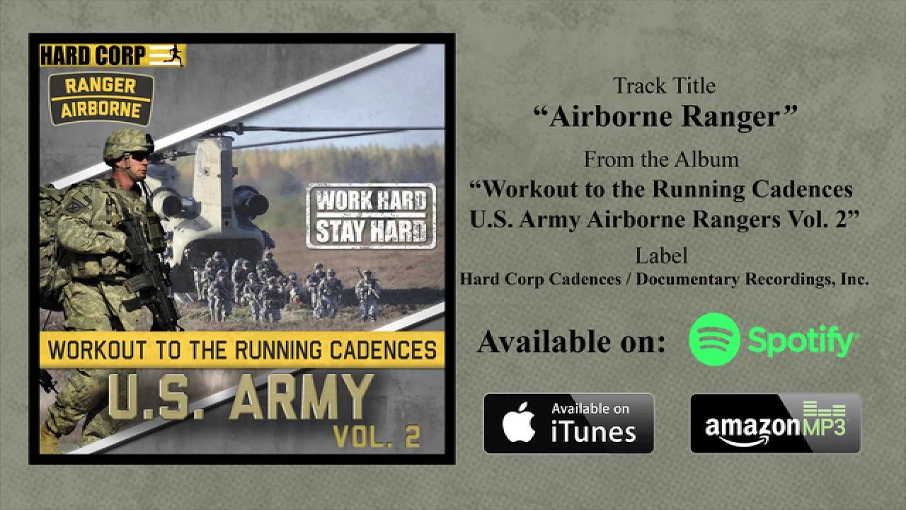 airborne ranger running cadence