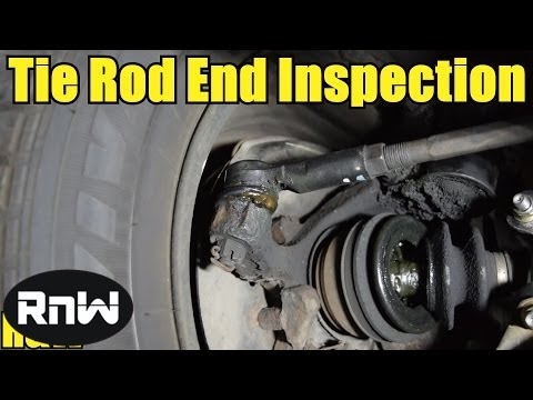 How to Inspect and Test Your Inner and Outer Tie Rod Ends - YouTube