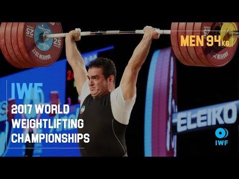 Sohrab Moradi | 2017 Men's 94kg IWF World Champion
