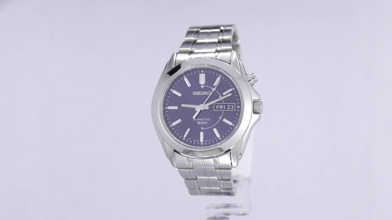 203702308 seiko mens sne361 analog display japanese quartz silver watch