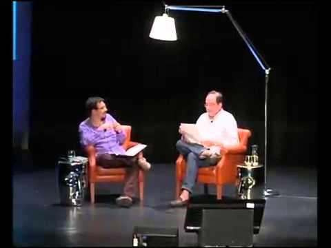 Iban Zaldua en conversación con Pedro Ugarte en AlhóndigaBilbao