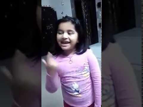 """Aadya sings Kirik party song """"BELAGEDDU """" ಆದ್ಯಾ ಹಾಡಿದ ಹಾಡು """"ಬೆಳಗೆದ್ದು"""""""