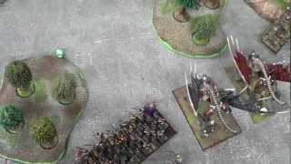 WHFB (42) - 3000 Vampire Counts vrs Orcs and Goblins, Meeting Engagement.