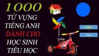1000 Từ Vựng Tiếng Anh dành cho Học sinh tiểu học (Phần 1)