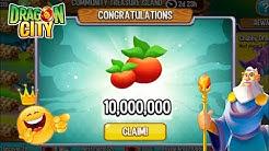 Dragon City - How to get 10 Million Food Reward in Treasure Island ????