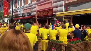 Великолепные болельщики Швеция заполонили Нижний Новгород