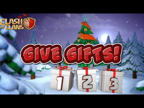 GIVE GIFTS TO YOUR CLANMATES IN CLASH OF CLANS!