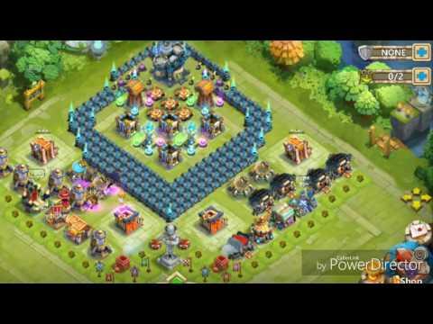 Castle Clash TH16 HBM Base!!!:)